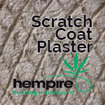 hemp building plaster scratch coat